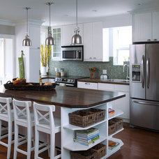 Contemporary Kitchen by Urban Tree Salvage