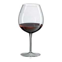 Ravenscroft Crystal - Crystal Wine Glass Set - Enhanced by a sheer rim, a tall chimney and a deep, rounded bowl, this lead free crystal wine glass is designed to showcase the best elements of burgundy, pinot noir and other fruit-driven red wines. The glasses are sold in a set of four and will be an excellent addition to any wine cellar. Set of 4. As featured in Wine & Food and In Style Magazine. Capacity: 24.75 oz.. 8.25 in. H. Best with Barolo, Barbaresco, Burgundy, Grand Cru, Beaujolais, Nebbiolo and Pinot Noir varietalsThe sheer rim provides a whistler-like mouth-feel experience, while the tall chimney and deep rounded bowl allows dense fruit-driven red's to concentrate their bouquet and immerse the senses in the experience.