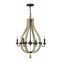 Middlefield 4 Light Chandelier Fredrick Ramond for Hinkley FR40574IRR - ORDER TODAY ON HOUZZ FROM LEE LIGHTING.