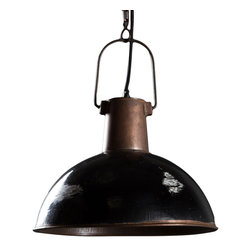 Bristol Hanging Lamp - *Made from Hand formed steel