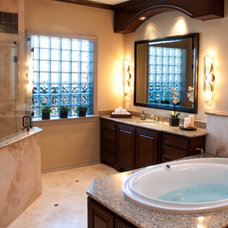 Traditional Bathroom by G & S Services