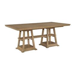 Broyhill - Hampton Double Pedestal Table - 8054-531-51 - Feature