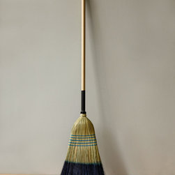 Barn Broom, Tipped - This dipped broom is gorgeous. Can I say that about a broom? My 20-year-old self just rolled her eyes so hard.
