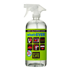 Better Life - Better Life WhatEVER All Purpose Cleaner - Sage and Citrus - 32 fl oz - And the winner for best all around is…this incredible cleaner. As the name implies, you can use it on whatever you like, from countertops to showers. You'll appreciate that it's environmentally safe, too, so you won't have to worry about harmful chemicals. And the sage and citrus scent will leaving everything smelling wonderfully clean, too.
