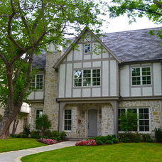 Traditional Exterior by Booth Builders, Inc.