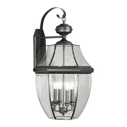 Livex Lighting - Livex Lighting 2356-04 Outdoor Lighting/Outdoor Lanterns - Livex Lighting 2356-04 Outdoor Lighting/Outdoor Lanterns