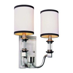 Trans Globe Lighting - Trans Globe Lighting 7972 BN Wall Sconce In Brushed Nickel - Part Number: 7972 BN