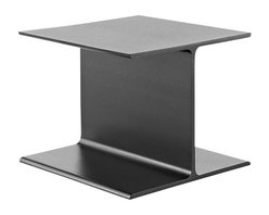 Geiger - I Beam Side Table - Architecturally inspired and deceptively simple, this side table makes a stylish statement. With sleek lines and durable design, it's a must-have for your modern space.