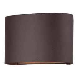 Minka-Lavery - Everton Dorian Bronze Two-Light Dark Sky/ADA Wall Lantern - -Two-Light Wall Lantern in Dorian Bronze Finish Minka-Lavery - 72400-615B