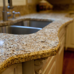 traditional kitchen countertops by Granite Grannies