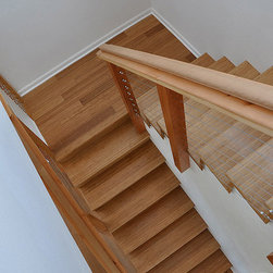 Organic Mocha Vertical Bamboo Floors -