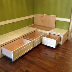 Dining Room Benches with Storage - Dining Room Benches with Storage
