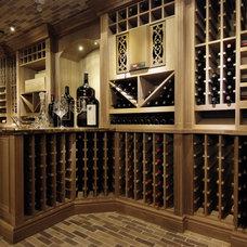 Traditional Wine Cellar by JOSEPH RENAUD
