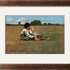 Boys in the Pasture Print by Winslow Homer at Art.com
