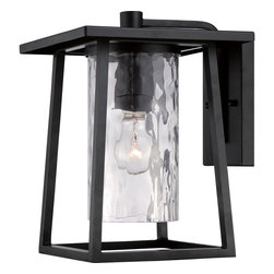 Quoizel - Quoizel LDG8409K Lodge 1 Light Outdoor Wall Lights in Mystic Black - Outdoor wall mystic blck