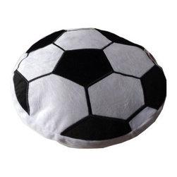 Soccer Ball Plush Pillow - Plush Novelty Pillow
