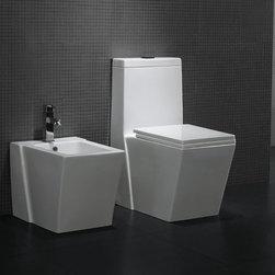 Medio Modern Bathroom Toilet -