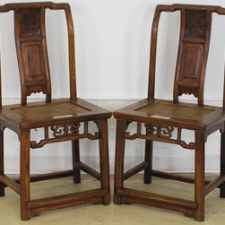 Chinese Chair with Woven Seat - Chinese Chair with Woven Seat