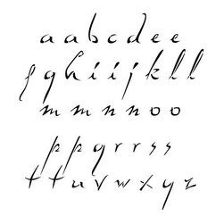 Stencil Ease - Dali Alphabet Stencil - Dali Alphabet - Lowercase - includes a-z lowercase an extra a e i l m n o p r s and t and 3 blanks. Comes with 40 individual sheets of durable reusable plastic.