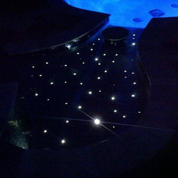 Fiber optic Pool floor - Fiber optic pool floor