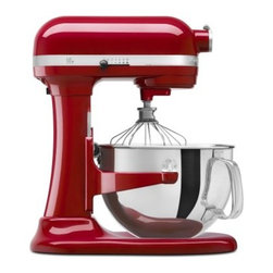 KitchenAid KP26M1XER Professional 600 Series Stand Mixer - Empire Red - Powerful durable and versatile the KitchenAid KP26M1XER Professional 600 Series Stand Mixer - Empire Red will quickly become any cook's best friend. Finished in a fun bright empire red this all-metal mixer features a 575-watt motor direct-drive transmission and all-steel gears to give you years of dependable service. Additional Features: 14.63L x 11.31W x 16.5H inches 575-watt motor with commercial-style protection Direct-drive transmission All-metal construction; all-steel gears Bowl-lift design About KitchenAidFor over 80 years KitchenAid has been devoted to creating innovative cookware that inspires culinary excellence. From the original Stand Mixer first created in Troy Ohio this industry leader now offers a wide assortment of cookware bakeware kitchen accessories and appliances. All products are designed with your cooking needs in mind and are engineered to exceed the highest manufacturing standards. Since 1919 KitchenAid has been synonymous with quality and value. As a result all KitchenAid products are backed by exceptional industry-leading warranties. Check out the complete line today.