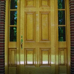 Chad Womack Design - Baroque  Front Entry Door -
