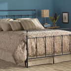 Leggett/Platt Fashion Bed - Metal Bed in Mahogany Gold Finish w Castings (Twin) - Choose Bed Size: TwinThis quaintly designed mahogany gold finished metal bed is as comfortable in floral embossed bedding as it is in tailored masculine linens. The rectangular headboard and footboard feature widely set rails that form a beaded pattern as they intersect the top of the frame. Mahogany Gold finish. Made of Metal. Twin: 40 in. W x 79 15/16 in. L x 50 3/8 in. H. Full: 55 in. W x 79 15/16 in. L x 52 in. H. Queen: 62 in. W x 84 15/16 in. L x 52 in. H. King: 78 in. W x 84 15/16 in. L x 52 in. H.  Cal King: 89 15/16 in. L x 78 in. W x 52 in. HIn the Winslow we see a purity of form that makes it the chameleon of the line. It quite effectively spans the gap between he sexes. Be sure to note the castings at the top of the head and footboard. This curling silhouette creates a subtle movement outward that brings plenty of interest to the design. It is this kind of attention to detail the tells us much thought went into the look and feel of this. The finish is Mahogany Gold.