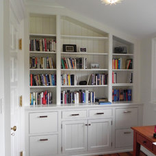 Traditional Home Office by John Toates Architecture and Design