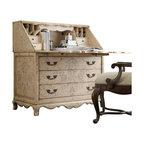 Hooker Furniture - Hooker Furniture Seven Seas Handpainted Secretary Desk - Hooker Furniture - Secretary Desks - 50050833 -