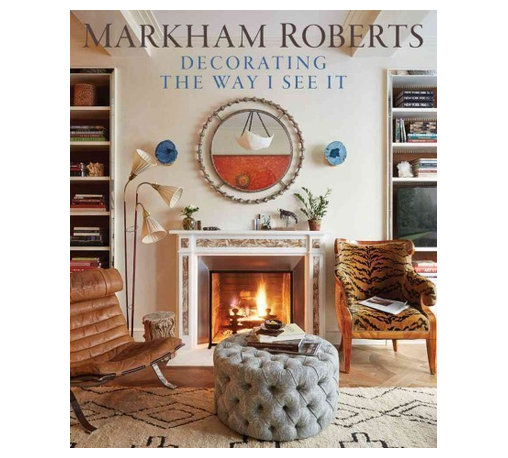 "Vendome Press - ""Markham Roberts: Decorating the Way I See It"" Hardcover - Known for his ability to work in any design vernacular, Markham Roberts brings a fresh approach to traditional and contemporary styles alike. His work is not defined by signature looks or design trends. Rather, using an inventive combination of layered patterns and color as well as bold juxtapositions of furniture of different styles and periods, custom designs, and works of art from around the world, he creates interiors that have been described as ""the very definition of chic."""