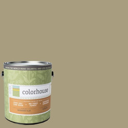 Inspired Flat Interior Paint, Stone .03, Gallon - Colorhouse paints are zero VOC, low-odor, Green Wise Gold certified and have superior coverage and durability. Our artist-crafted colors are designed to be easy backdrops for living. Colorhouse paints are 100% acrylic with no VOCs (volatile organic compounds), no toxic fumes/HAPs-free, no reproductive toxins, and no chemical solvents.