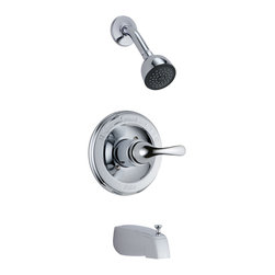 Delta Monitor(R) 13 Series Tub and Shower Trim - T13420-DPE - Timeless design for today's homes