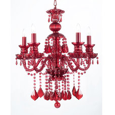 Eclectic Chandeliers by Gallery