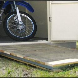 Temloc Building Photos - Ramp Kits are also available for both 10' and 12' wide buildings.