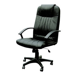 "ACMACM02336 - Arthur Executive Office Chair with Pneumatic Lift and Casters - Arthur Executive office chair with pneumatic lift and casters. Measures 25"" x 27"" x 47"" H. Some assembly required."