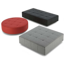 modern ottomans and cubes by Switch Modern