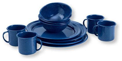 Modern Dinner Plates by L.L. Bean