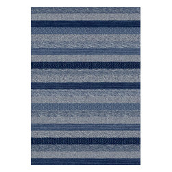 Dynamic Rugs - Dynamic Rugs Infinity 3.11X5.7 32743-5237 Blue - A chic addition to the contemporary home, the Infinity Collection features modern flair and dramatic colors. Woven in Belgium for excellent durability, colorfastness, and anti-static, these rugs are ideal for high use areas of the home such as the family room or dining area. Bold styling and contemporary designs set Infinity Collection on high ground.