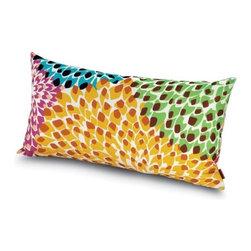 Missoni Home - Dalia Outdoor Pillow 12x24 | Missoni Home - Design by Rosita Missoni.