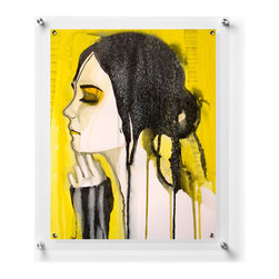 Wexel Art - Exel Floating Acrylic Wall Frame 28x40 - NOTE: Photos not included.