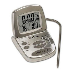 Taylor - Taylor Digital Programmable Thermometer - Taylor Digital Programmable thermometer with Stainless Steel casing.