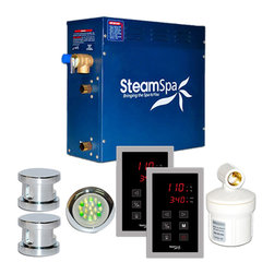 SteamSpa - SteamSpa Royal 10.5kw Touch Pad Steam Generator Package in Chrome - DESCRIPTION