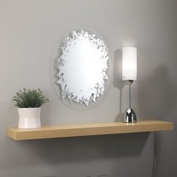 Umbra Chrysalis Wall-Mount Mirror - I like how funky and kind of crazy this one is. This unique mirror would be great for any space that needs a little more fun. Also, I think it would be a definite conversation starter.