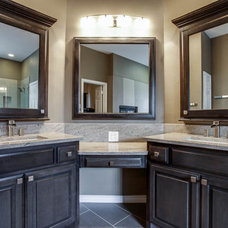 Contemporary Bathroom by DFW Improved