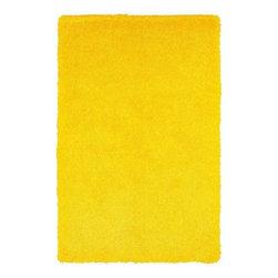 "LR Resources - LR Resources Senses Shag LR80935 Yellow 5' x 7'9"" Area Rugs - LR Resources Senses Shag LR80935 Yellow 5' x 7'9"" Area Rugs"
