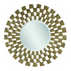 Bassett Mirror Co - Bassett Mirror Co M3222BEC Sprockets End TableChequers Collection - Bassett Mirror is fluent in this art, showing a terrific contemporary furniture that will satisfy on the one hand fans of home coziness, and on the other hand - seekers of non-standard design solutions also. One of the many strengths of the Bassett Mirror
