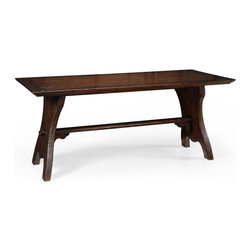 EuroLux Home - New Jonathan Charles Bar Table Tudor Oak - Product Details