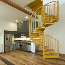 Modern Staircase by Ivon Street Studio