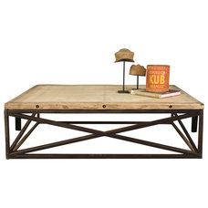 Rustic Coffee Tables by BoBo Intriguing Objects