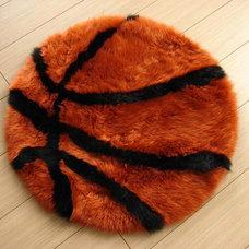 Modern Kids Rugs Basketball Fun Rug By Bowron Rugs